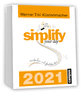 "Tagesabreißkalender 2021 - ""simplify your day 2021"""
